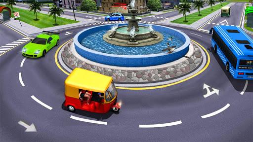 Modern Tuk Tuk Auto Rickshaw: Free Driving Games screenshot 6