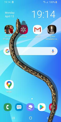 Змея на Экране Шипящая Шутка - iSnake скриншот 1