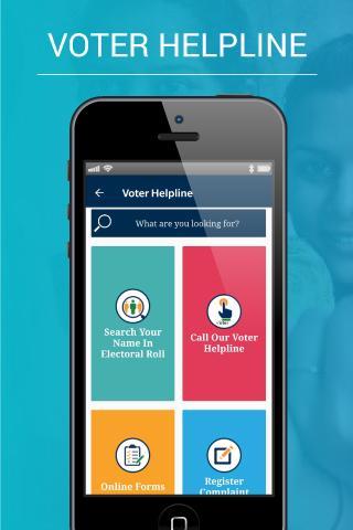 Voter Helpline screenshot 1