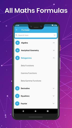 All Maths Formulas screenshot 2