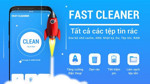 Dọn dẹp nhanh hơn - Tệp rác dọn dẹp và tăng tốc độ screenshot 1