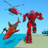 Grand Shark Robot Car Transformation War أيقونة