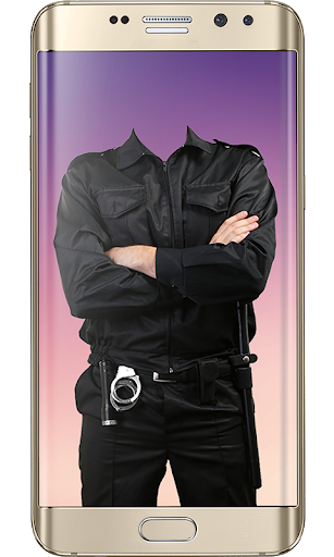 Police Suit Photo & Image Editor - Photo Frames 5 تصوير الشاشة