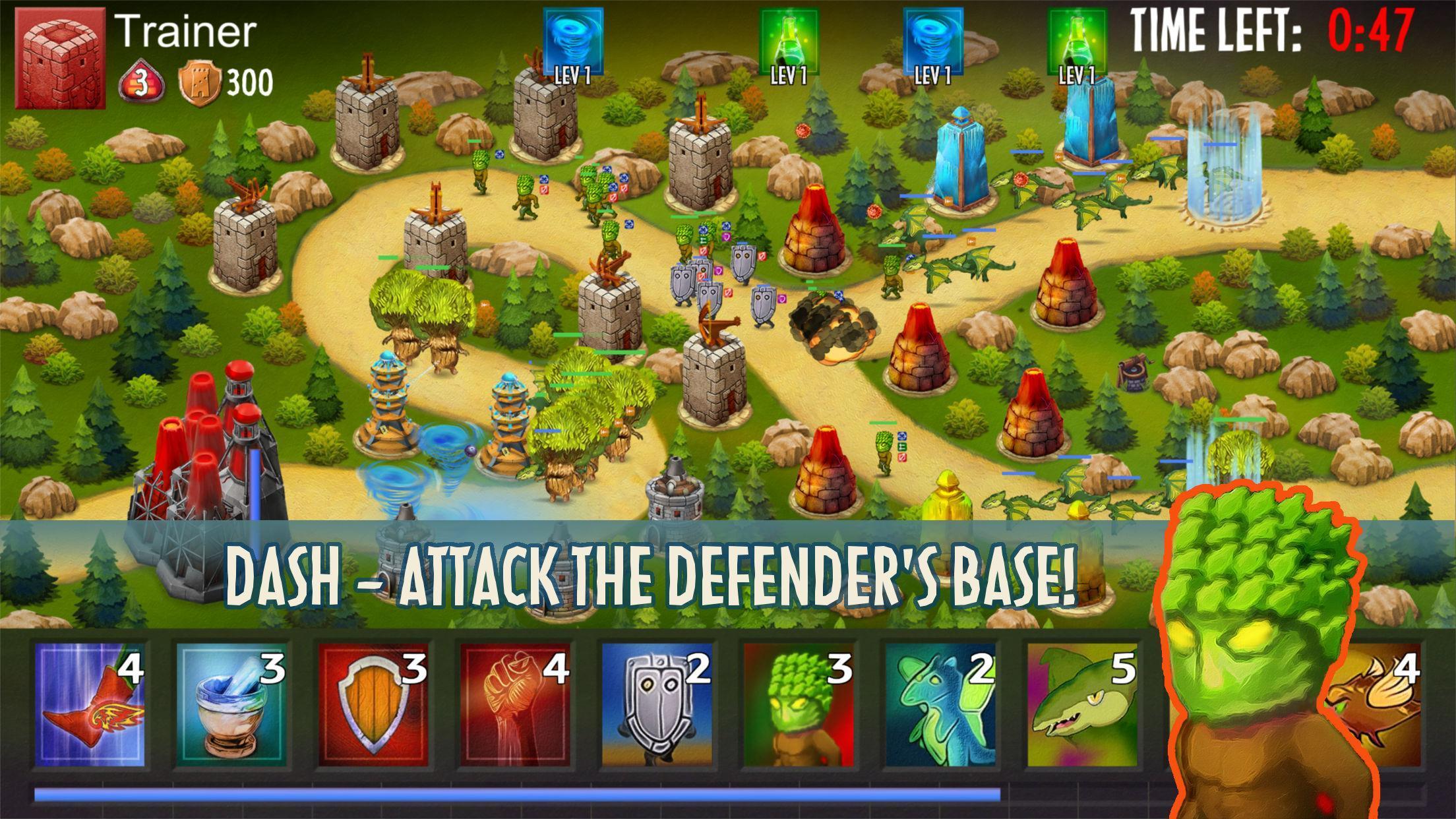 Dash or Defend 1 تصوير الشاشة