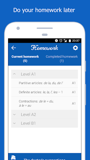 Dr French, French grammar screenshot 5