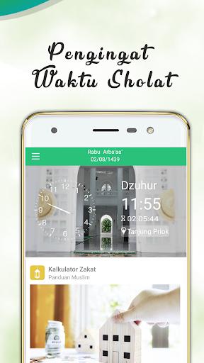 Panduan Muslim:  Waktu Shalat, Azan, Quran & Qibla screenshot 4