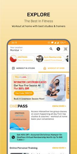 Fitternity - Health & Fitness App screenshot 1