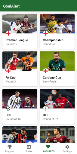 GoalAlert - The fastest football app 1 تصوير الشاشة