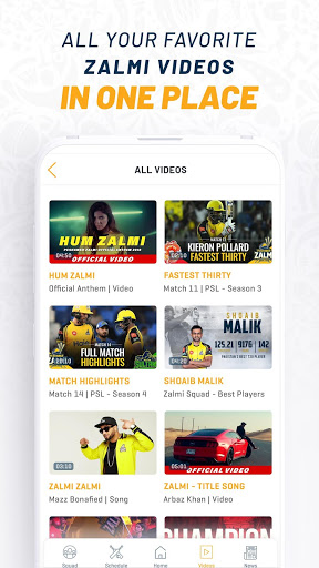 Official Peshawar Zalmi PSL Live Cricket Streaming screenshot 4