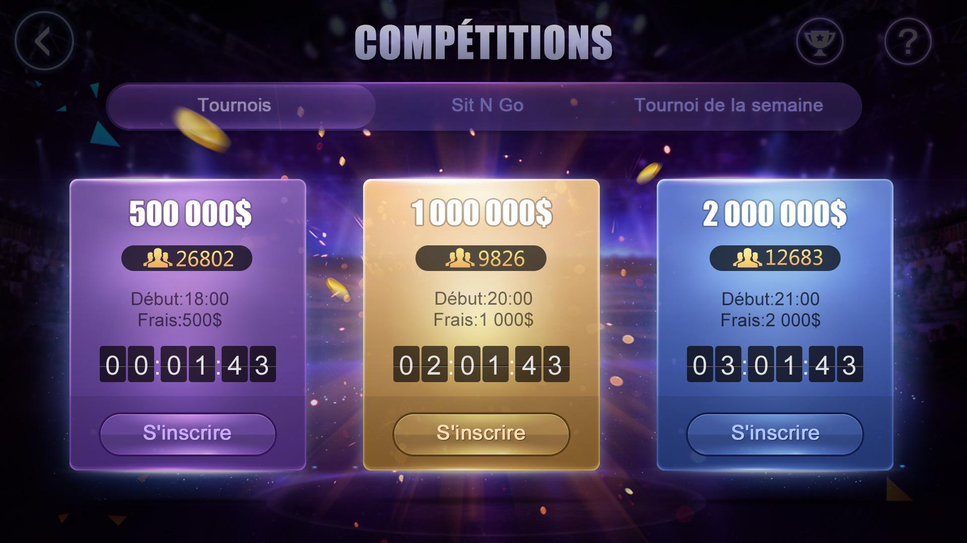 Poker France HD – Artrix Poker 6 تصوير الشاشة