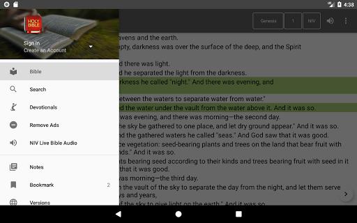Bible Offline App Free   Audio, KJV, Daily Verse скриншот 9