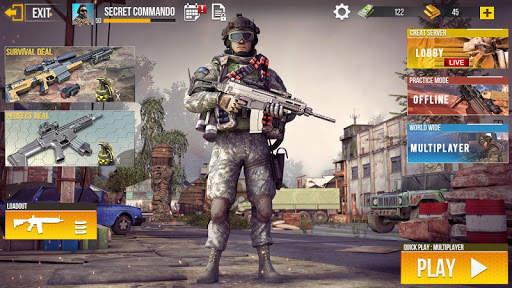 Real Commando Secret Mission - Free Shooting Games screenshot 4