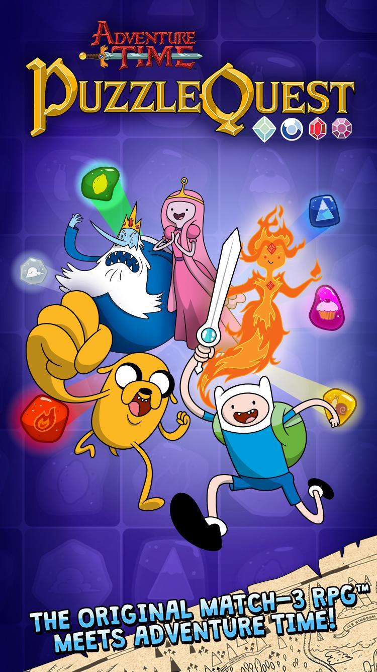 Adventure Time Puzzle Quest 11 تصوير الشاشة