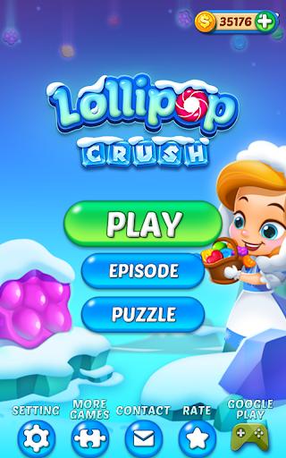 Lollipop Crush 7 تصوير الشاشة