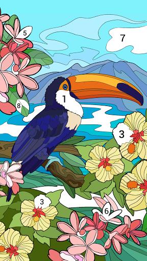 لوّن بالأرقام: كتاب تلوين صور جديد مجاناً 1 تصوير الشاشة