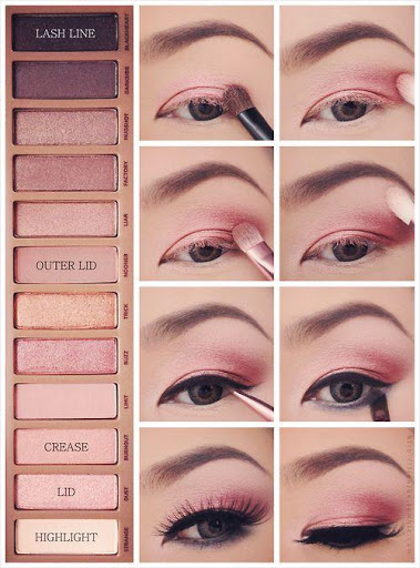 Step by step makeup (lip, eye, face) 💎 screenshot 3