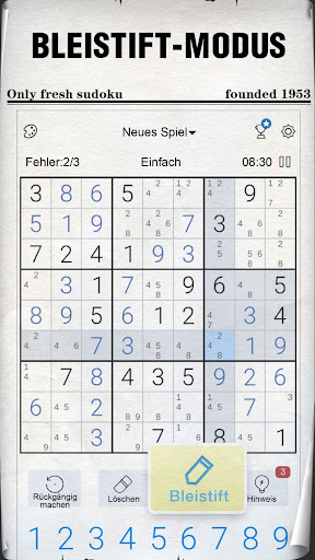 Sudoku - Kostenlose klassische Sudoku Puzzles screenshot 2