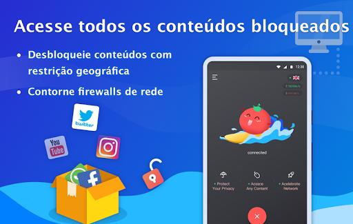 Free VPN Tomato|Proxy VPN de hotspot grátis rápido screenshot 3