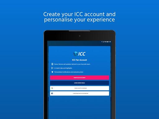 ICC - Live International Cricket Scores & News 14 تصوير الشاشة