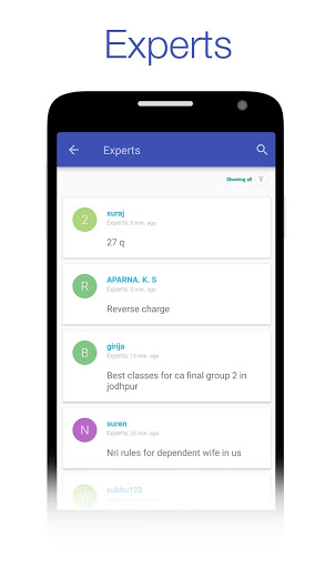 CAclubindia- Tax and Query App screenshot 2