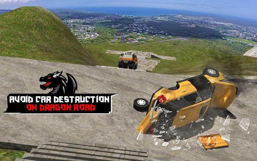 Cruiser Car Stunts: Dragon Road Driving Simulator screenshot 18