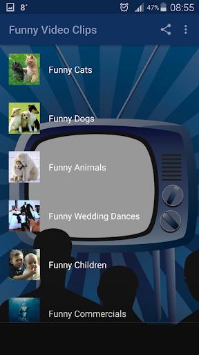 Funny Video Clips 2 تصوير الشاشة