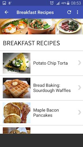 Quick and Easy Recipes 3 تصوير الشاشة