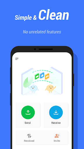 InShare - Share Apps & File Transfer screenshot 4