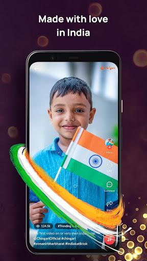 Chingari - Original Indian Short Video App 3 تصوير الشاشة