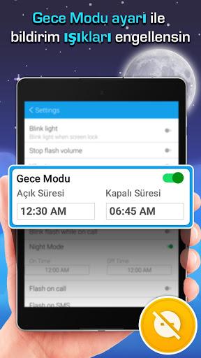 Flaş LED'i - Çağrı, SMS'e screenshot 7
