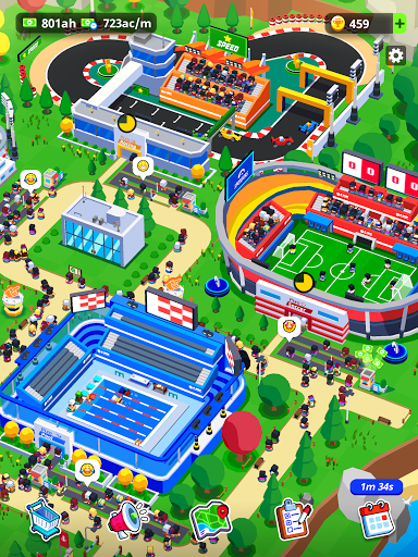 Sports City Tycoon - Idle Sports Games Simulator screenshot 14