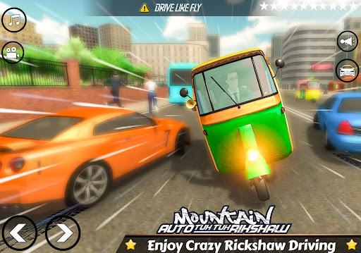 Mountain Auto Tuk Tuk Rickshaw Novos Jogos de 2020 screenshot 10