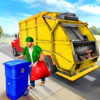 Garbage Truck Driving Simulator - Truck Games 2020 on 9Apps