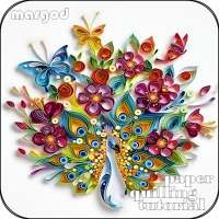 Paper Quilling Wallpaper on 9Apps