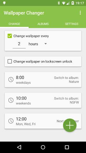 Wallpaper Changer 1 تصوير الشاشة