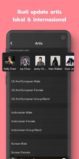 JOOX: Gratis Musik download, Radio dan Karaoke screenshot 7