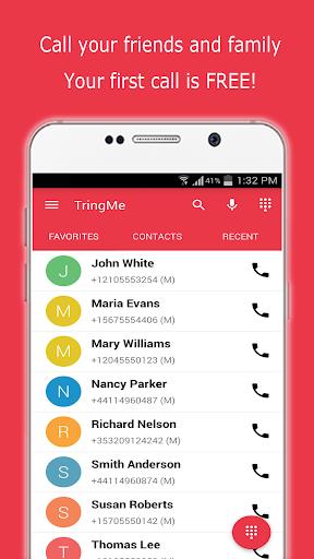 TringMe - Cheap International Calls screenshot 1