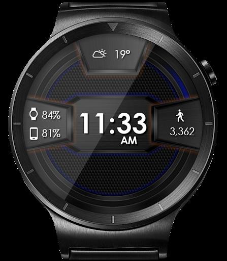 Daring Carbon HD WatchFace Widget Live Wallpaper 14 تصوير الشاشة