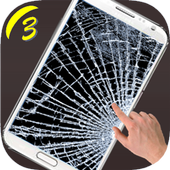 Prank Broken Screen 3 icon