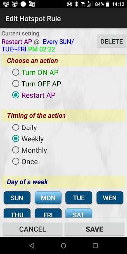 HotSpot Tethering - WiFi AP Editor, Share Net/5G screenshot 3