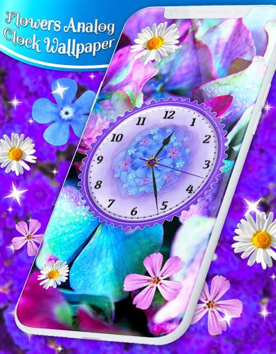 Flower Blossoms Clock 🌺 Spring 4K Live Wallpaper screenshot 6