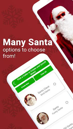 Fake Call from Santa - Talk to Santa Claus Prank screenshot 4