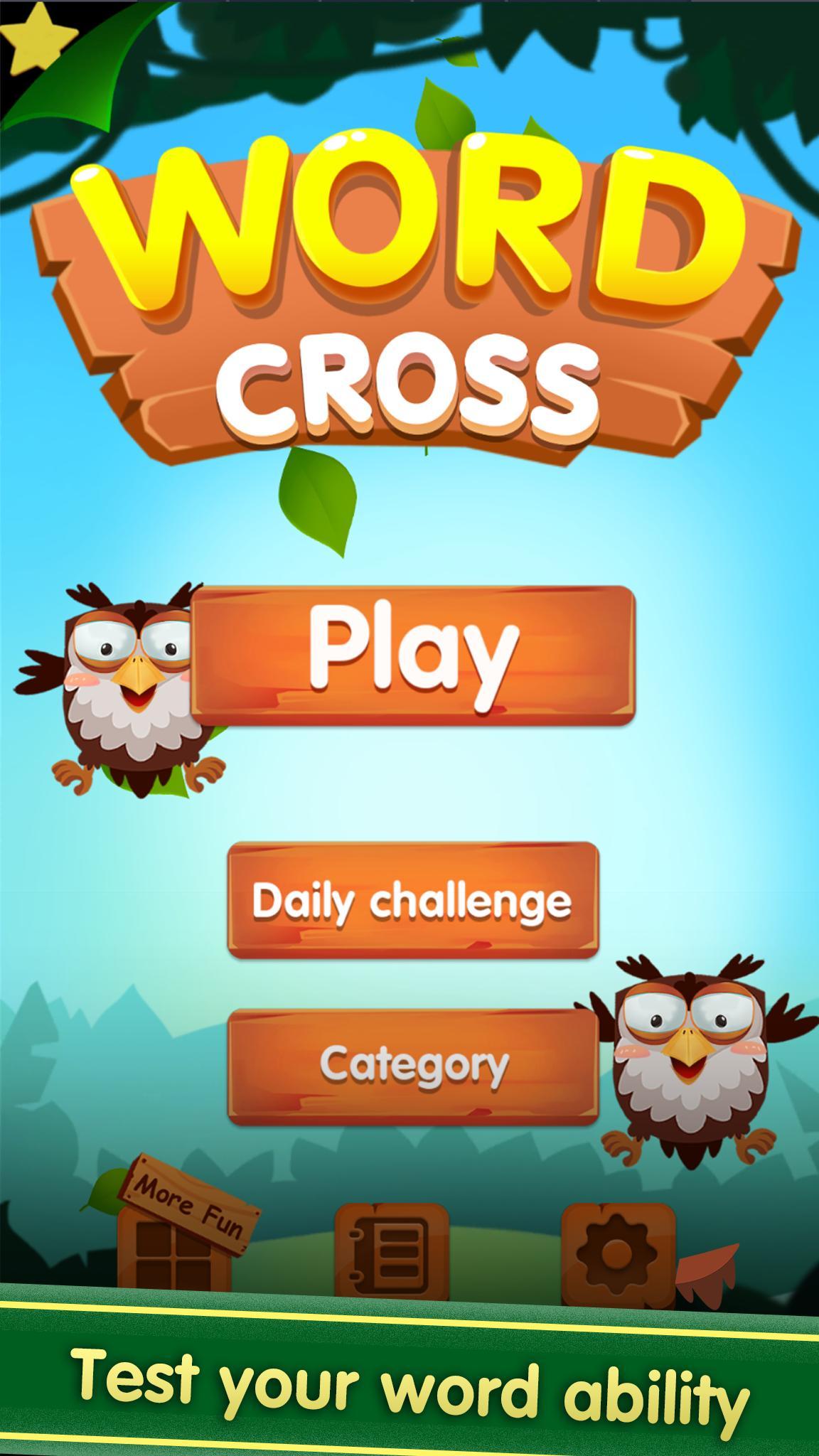 Word Cross : Word Games Puzzle screenshot 1