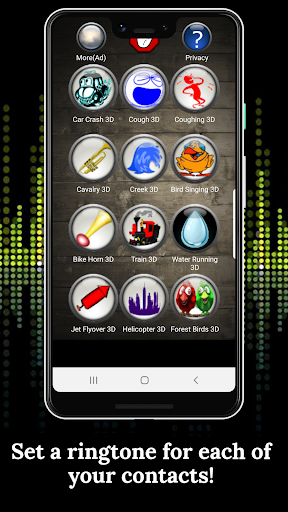 3D Ringtones 4D screenshot 4
