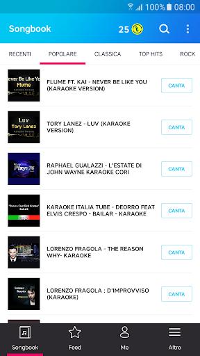 Karaoke di canzoni italiane screenshot 2