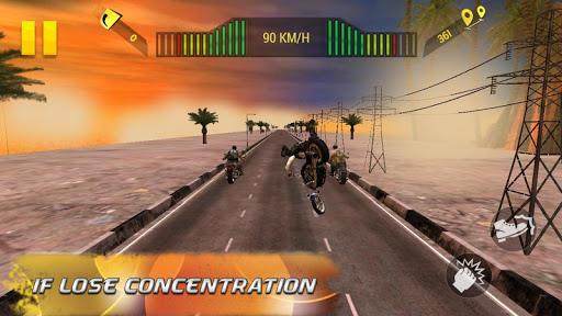 Moto Attack 3D Bike Race 2016 screenshot 8