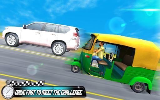 Prado vs Tuk Tuk Auto Rickshaw Racing screenshot 3