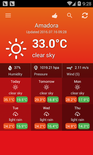 الطقس البرتغال 4 تصوير الشاشة