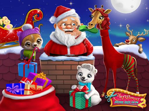 Christmas Animal Hair Salon 2 9 تصوير الشاشة