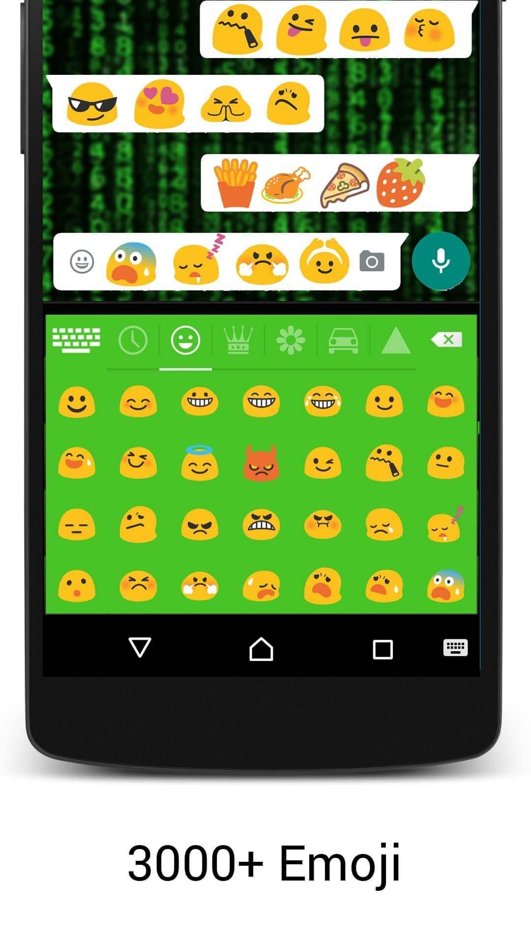 Emoji Neon Matrix Keyboard screenshot 3